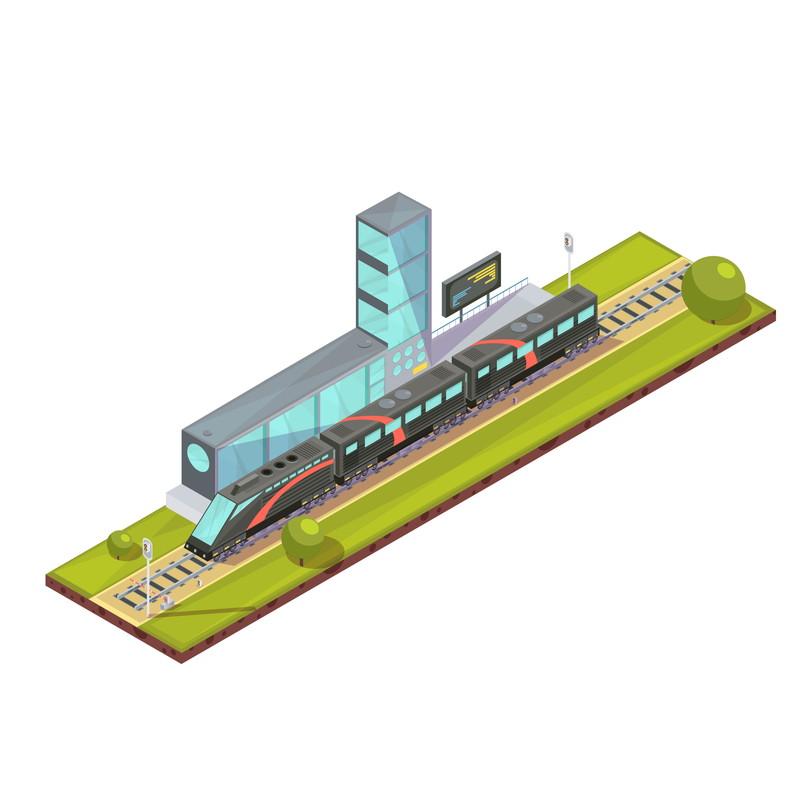 デフォルメ鉄道